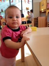 Hanna im Spielzimmer