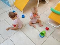 Spielen am Boden