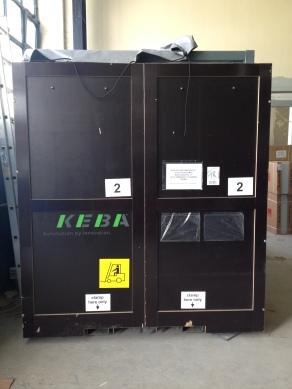 Robot cell - transportation box at TekKon