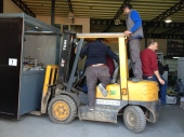 KEBA style forklift movements ... in Turkey!