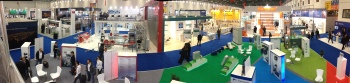 Booth panorama.
