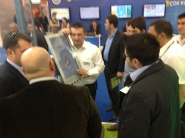 Ilkay presenting multitouch