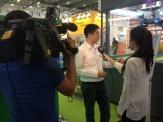 Hayri gets interviewed